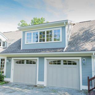 https://www.houzz.com/photo/88605948-2-car-garage-with-office-above-traditional-garage-louisville