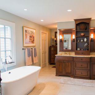 Master Bathroom, Powder Room & Full Basement Bathroom Update